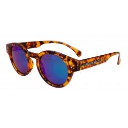 Independent Barrier Mirror Tortoise Shell lunettes-de-soleil