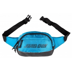 Santa Cruz Classic Strip Waistpack Cyan luggage-storage