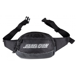 Santa Cruz Classic Strip Waistpack Black luggage-storage