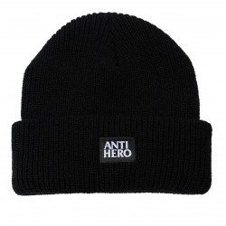 Anti-Hero Lil Black Hero Black bonnet