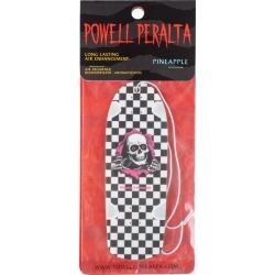 Powell Peralta Air Freshener Checker Ripper Pineapple White accessoire