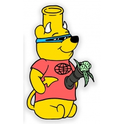 Pizza Winnie sticker