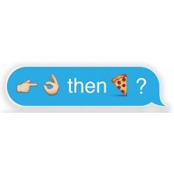 Pizza Question sticker