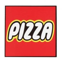 Pizza Lego sticker