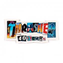 Thrasher 40 years sticker