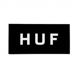 HUF Core Logo Rectangle Black sticker