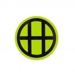 HUF Core Logo Circle Green sticker