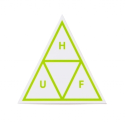 HUF Core Logo Essentials Green sticker