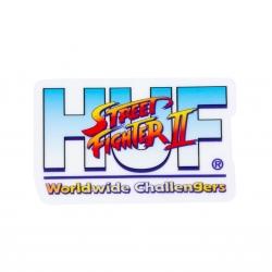 HUF Street Fighter II Worldwide Challengers sticker