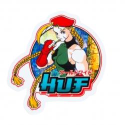 HUF Street Fighter II Cammy White sticker