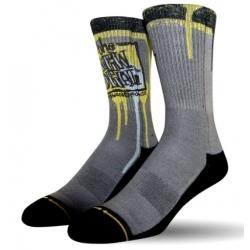 Merge4 The New Deal Napkin Logo socks