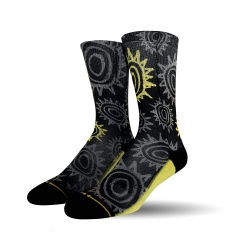Merge4 New Deal Sun Pattern socks