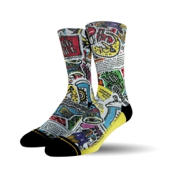 Merge4 New Deal Sticker Pack chaussettes
