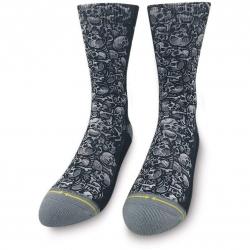 Merge4 Jimbo Skulls socks