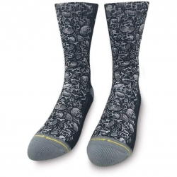 Merge4 Jimbo Skulls chaussettes