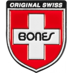 Pin Label Swiss Shield
