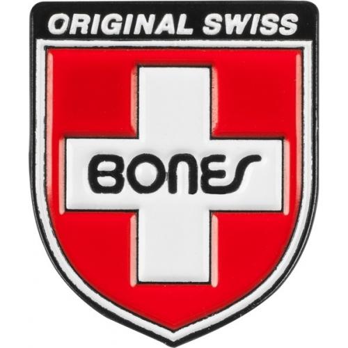 Pin Label Swiss Shield