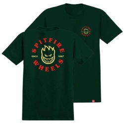 Spitfire Bighead Classic SS Forrest Green t-shirt