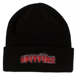 Spitfire Flash Fire Black Red beanie