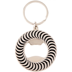 Spitfire Classic Swirl Bottle Opener Nickel Black keyrings