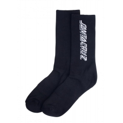 Santa Cruz Contra Strip Black chaussettes