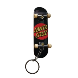 Santa Cruz Classic Dot Fingerboard keyrings