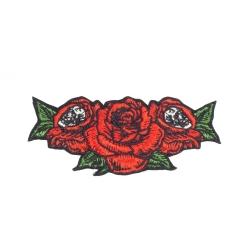 Santa Cruz Muerte Roses patch