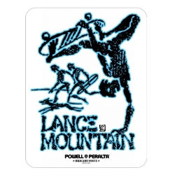 Powell Peralta Lance Mountain 4.5 sticker