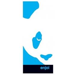 Enjoi Box Panda White sticker