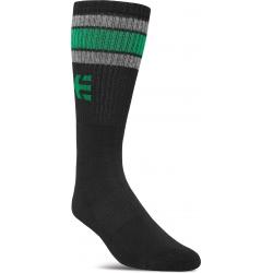 Etnies Rebound Black Green socks