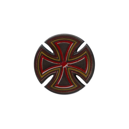 Cross Silver / Red