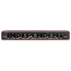 Independent Bar Cross pins-badge