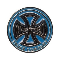 Independent Classic Co Blue pins-badge