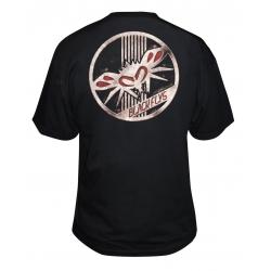 Black Flys Rust Badge Tee M t-shirt