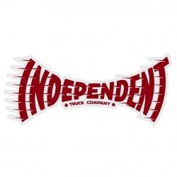 Independent Breakneck Red sticker