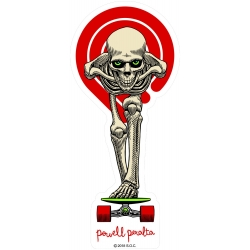Powell Peralta Tucking Skeleton sticker