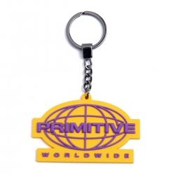 Primitive Keychain Worldwide Gold keyrings