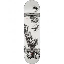 Globe G1 Hard Luck - White/Black 8.0 complete-skateboard
