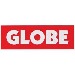 Globe Red Logo sticker