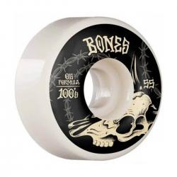 Bones Desert Skull 55 v4 Wide Og Formula 100A wheels