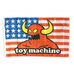 Toy Machine American Monster Flag banner