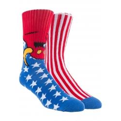 Toy Machine American Monster Red socks