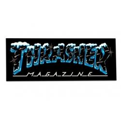 Thrasher Magazine Snow Ice sticker