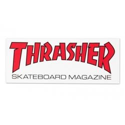 Thrasher Skate Mag White sticker