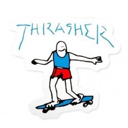 Thrasher Gonz Blue sticker