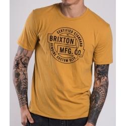 Brixton Ltd Pullman - Mustard t-shirt