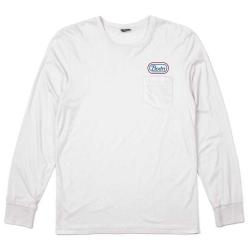 Brixton Ltd Joel L/S - White t-shirt