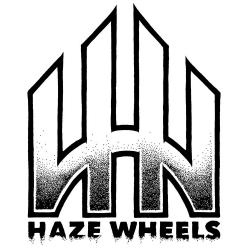 Haze Wheels Logo used sticker