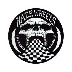 Haze Wheels Fórmula Inferno pequena autocolante