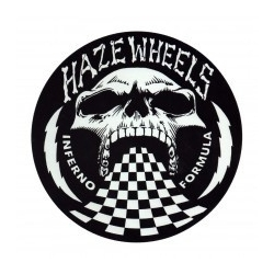 Haze Wheels Inferno formula small sticker